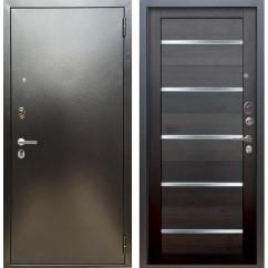 Входная дверь Аргус Люкс ПРО Александра (Серебро антик / Вельвет)