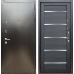 Входная дверь Аргус Люкс ПРО Александра (Серебро антик / Лунная ночь)