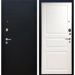 Входная дверь Аргус Люкс ПРО Джулия-2 (Чёрный шелк / Белый жемчуг)