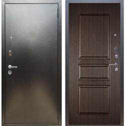 Входная дверь Аргус Люкс ПРО Сабина (Серебро антик / Венге)