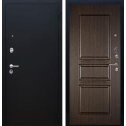 Входная дверь Аргус Люкс ПРО Сабина (Чёрный шелк / Венге)