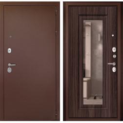 Входная дверь Дверной Континент Гарант-1 с Зеркалом (Венге)