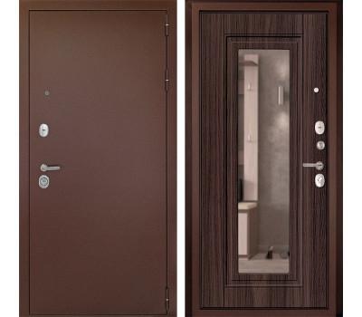 Входная металлическая дверь Дверной Континент Гарант-1 с Зеркалом (Венге)