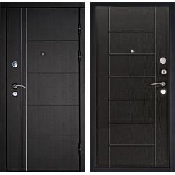 Входная дверь Дверной Континент Тепло-Люкс 3К (Венге / Венге)