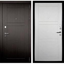 Входная дверь Дверной Континент Тепло-Макс 3К (Венге / Дуб беленый)