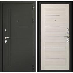 Входная дверь Дверной Континент Сити-С 3К (Серый графит / Дуб белёный)