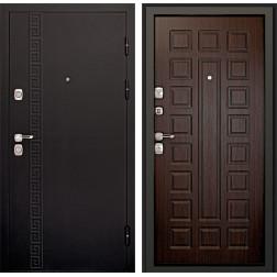Входная дверь Дверной Континент Сити 3К (Чёрный графит / Венге)