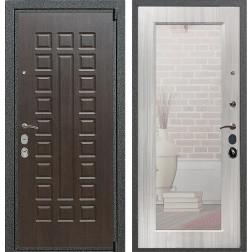 Входная дверь Армада 4А Mottura с Зеркалом Пастораль (Венге / Сандал белый)