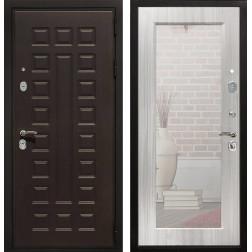 Дверь Армада Триумф 3К с Зеркалом Пастораль (Венге / Сандал белый)