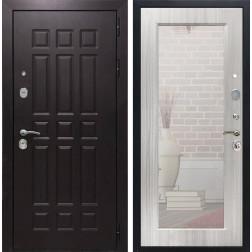 Дверь Армада Сенатор 8 с Зеркалом Пастораль (Венге / Сандал белый)
