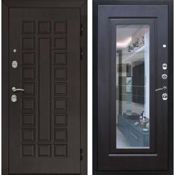 Входная дверь Армада Сенатор 3К с Зеркалом (Венге / Венге)
