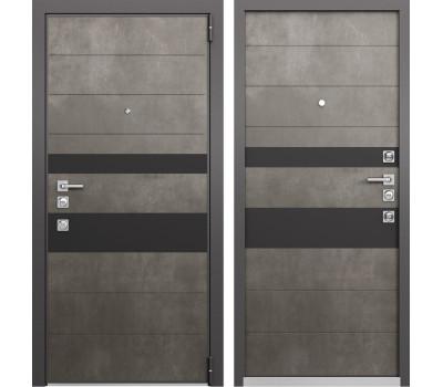 Входная металлическая дверь Mastino Forte (Бетон темный MS-118 / Бетон темный MS-118)