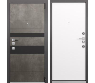 Входная металлическая дверь Mastino Forte (Бетон темный MS-118 / Реалвуд молочный MS-100)