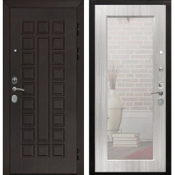 Дверь Армада Сенатор Cisa с Зеркалом Пастораль (Венге / Сандал белый)