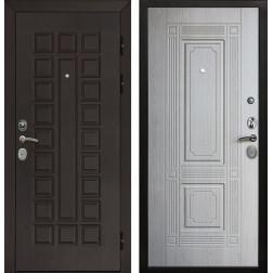 Входная металлическая дверь Армада Сенатор Cisa ФЛ-2 (Венге / Дуб беленый)