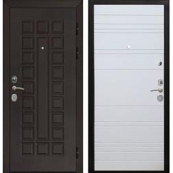 Входная металлическая дверь Армада Сенатор Cisa ФЛ-14 (Венге / Белый софт)