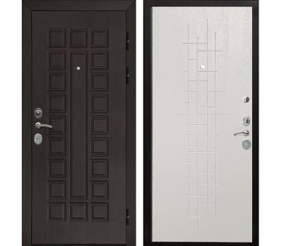 Входная металлическая дверь Армада Сенатор Cisa (Венге / Роял Вуд белый)