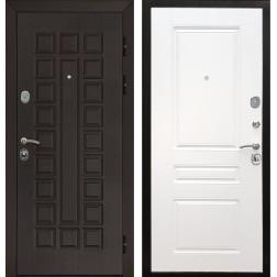 Входная металлическая дверь Армада Сенатор ФЛ-243 (Венге / Белый силк сноу)