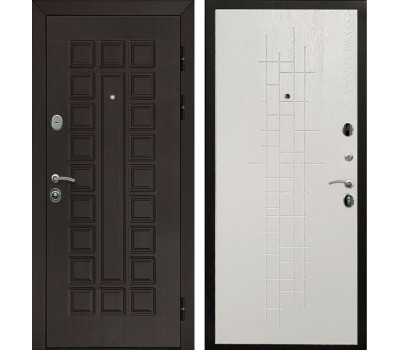 Входная металлическая дверь Армада Сенатор (Венге / Роял Вуд белый)