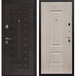 Входная металлическая дверь Армада Сенатор ФЛ-2 (Венге / Дуб беленый)