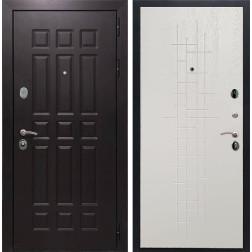 Входная металлическая дверь Армада Сенатор 8 (Венге / Роял Вуд белый)