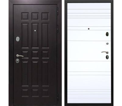 Входная металлическая дверь Армада Сенатор 8 ФЛ-14 (Венге / Белый софт)