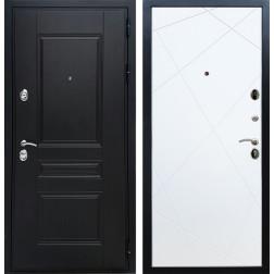 Входная металлическая дверь Армада Премиум Н Лучи (Венге / Белый софт)