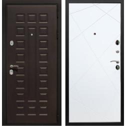 Входная металлическая дверь Армада Триумф 3К Лучи (Венге / Белый софт)