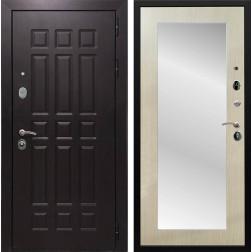 Дверь Армада Сенатор 8 с Зеркалом Пастораль (Венге / Дуб белёный)