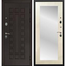 Дверь Армада Сенатор 3К с Зеркалом Пастораль (Венге / Лиственница беж)