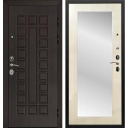 Дверь Армада Сенатор Cisa с Зеркалом Пастораль (Венге / Лиственница беж)