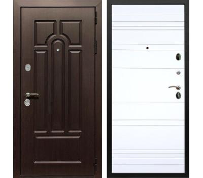 Входная металлическая дверь Армада Эврика 3К ФЛ-14 (Венге / Белый софт)