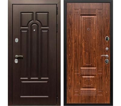 Входная металлическая дверь Армада Эврика 3К ФЛ-2 (Венге / Берёза морёная)
