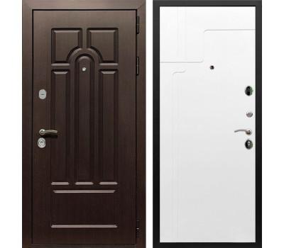 Входная металлическая дверь Армада Эврика 3К ФЛ-246 (Венге / Белый софт)