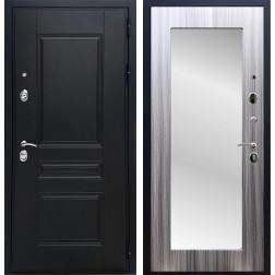 Дверь Армада Премиум Н с Зеркалом Пастораль (Венге / Сандал серый)