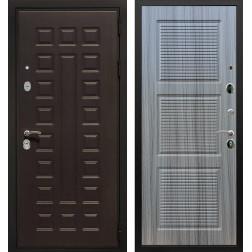 Входная металлическая дверь Армада Триумф 3К ФЛ-1 (Венге / Сандал серый)