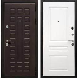 Входная металлическая дверь Армада Триумф 3К ФЛ-243 (Венге / Белый силк сноу)