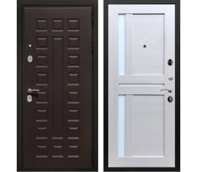 Входная металлическая дверь Армада Триумф 3К СБ-18 (Венге / Лиственница беж)