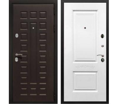 Входная металлическая дверь Армада Триумф 3К Смальта 04 (Венге / Белый силк сноу)
