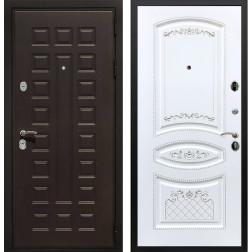 Входная дверь Армада Триумф 3К ФЛ-316 (Венге / Белый патина Серебро)
