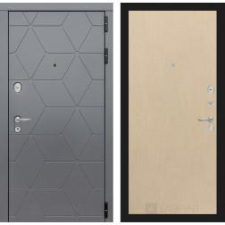 Входная металлическая дверь Лабиринт Cosmo 5 (Графит / Венге светлый)