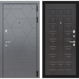 Входная металлическая дверь Лабиринт Cosmo 4 (Графит / Венге)
