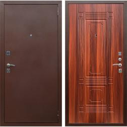 Входная дверь Армада 1 ФЛ-2 (Антик медь / Итальянский орех)