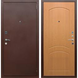 Входная дверь Армада 1А ФЛ-110 (Антик медь / Дуб натуральный)