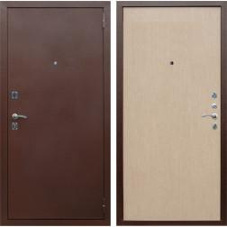 Входная дверь Армада Эконом (Антик медь / Дуб белёный)