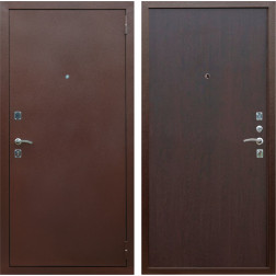 Входная дверь Армада Эконом (Антик медь / Венге)