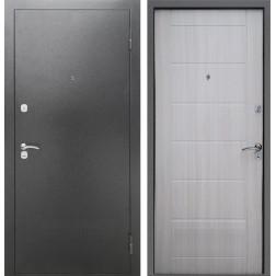Входная металлическая дверь Армада Сити (Антик серебро / Сандал белый)