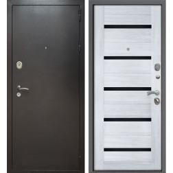 Входная дверь Армада Титан (Антик серебро / Сандал белый)