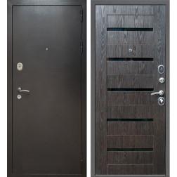 Входная дверь Армада Титан (Антик серебро / Венге тангент)