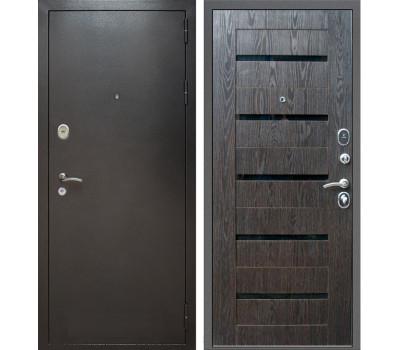 Входная металлическая дверь Армада Титан (Антик серебро / Венге тангент)